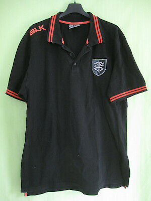 Polo Rugby Stade Toulousain ST Maillot Toulouse BLK Jersey Coton - XXL