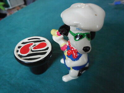 Giftco  Hot Dog Chef Bbq Grill Steaks Salt & Pepper Shakers