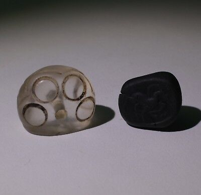 Superb Quality Ancient Carved Rock Crystal Seal - Circa 500Bc  - No Reserve 022