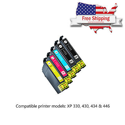 5 x Compatible Ink Cartridge For Epson XP-330 XP-430 XP-434 XP-446