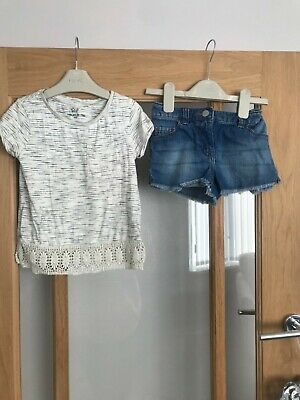 next girls summer outfit age 5 years