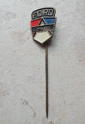 Épinglette badge FORD Consul Vintage Pins Auto Automobile 1960