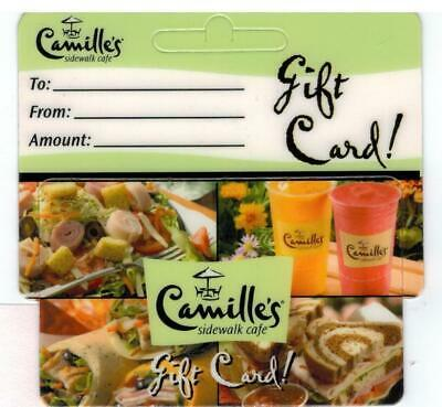 CAMILLE'S SIDEWALK CAFE GIFT CARD, $60 VALUE (3 x $20) FREE SHIPPING!