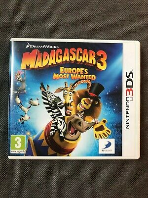 Madagascar 3 Europe's Most Wanted - Boxed - VGC - Nintendo 3DS / 2DS Game