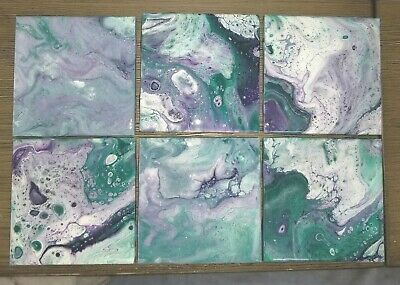Resin pour on tile