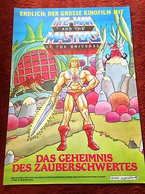 He Man and the Masters of the Universe Kinoplakat Poster A1, TOP ZUSTAND, 1985
