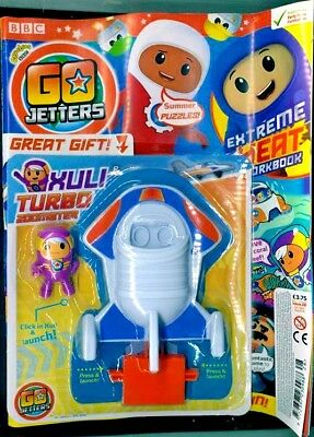 Cbeebies Go Jetters Magazine #28 - August With Gifts ~ New ~
