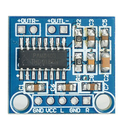 Mini 5V PAM8403 Audio Power Amplifier Board 2 Channel With Volume Control  $TCA