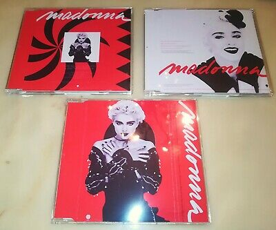 Madonna you can dance unmixed versions and dubs promo set, 3 cd's.