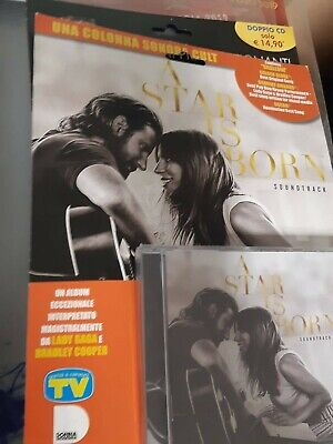 Cd A Star Is Born Soundtrack Lady Gaga Bradley Cooper Tv Sorrisi Canzoni