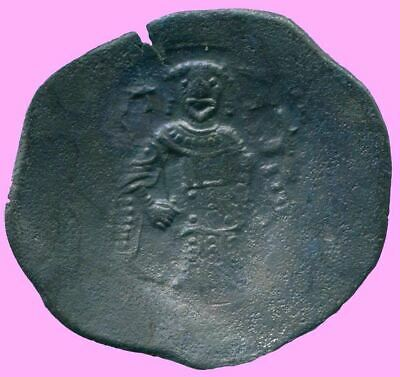 AUTHENTIC BYZANTINE EMPIRE  Aspron Trache Coin  3.27 g/26.28  mm BYZ1016.13