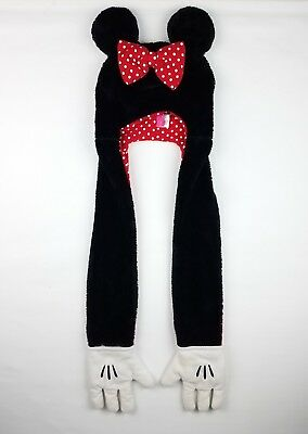 Disney Minnie Mouse Furry Warm Hat Scarf Gloves All in 1 (#57-21)