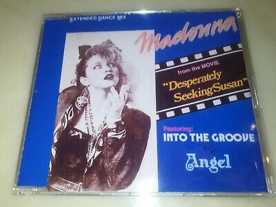 Madonna into the groove 2 tracks cd single, Philippine cover