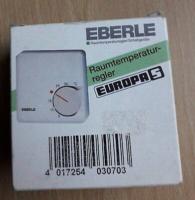 Eberle Rtr-6121 Indoor Mechanical Thermostat Surface-Mount 24Hr Mode 5 °C - 30