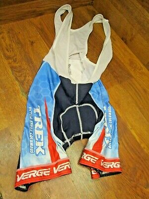 Size Small Verge Team CABO Men/'s Cycling Bib Shorts Brand New Black//Red//Grey