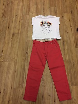 Zara Top And Trousers Age 8
