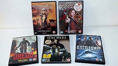 Dvd Bundle / Job Lot Of Action / Thriller Dvds See Pictures Free Post Vgc