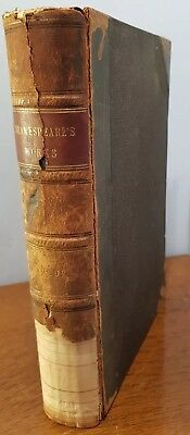 Antique Book Cassell's Illustrared Shakespeare The Plays Of Shakespeare  Vol 3