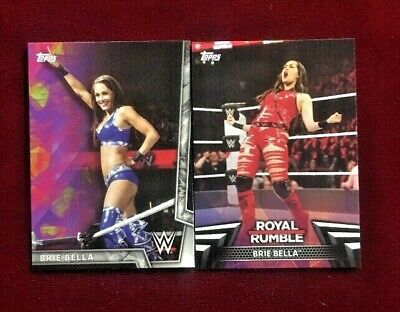 2018 Topps WWE Women's Division Royale Rumble #RR-22 Brie Bella