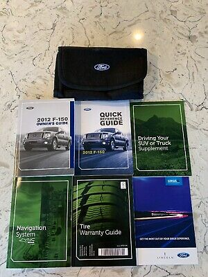 2012 ford f-150 xlt owners manual