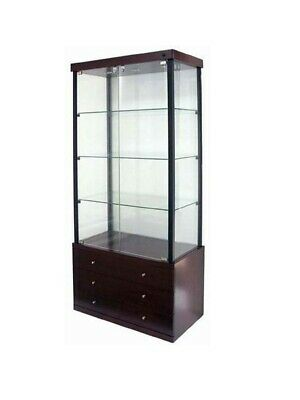 Collectables Display Showcase & Retail Glass Upright 1820mm High - KIT Form