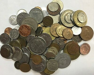 100 Mixed Worldwide Coins - Circulated & Uncirculated  Group #2