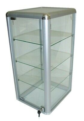 Glass Display Counter Top Model Retail Showcase 680mm