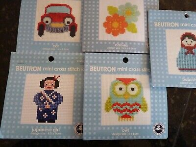 Beutron - Mini Cross Stitch Kit -  Different Designs To Choose From