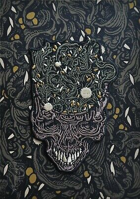 RICHEY BECKETT /// Exploding Scull Patch /// LIMITED RUN OF 100 /// Numbered