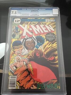 Marvel The Uncanny X-Men #117 CGC 7.5 1st Appearance Of The Shadow King +