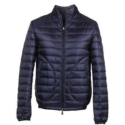 NWT HERNO Reversible Polar-Tech Quilted Goose Down Jacket M (Eu 50) Coat