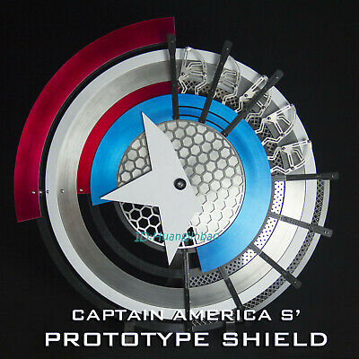 Captain America's Prototype Shield 1/1 Stainless steel Wearable Prop Collection