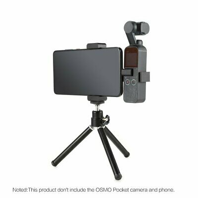 Phone Fixing Clamp Bracket Tripod Mount Stand for DJI Osmo Pocket CameraY&