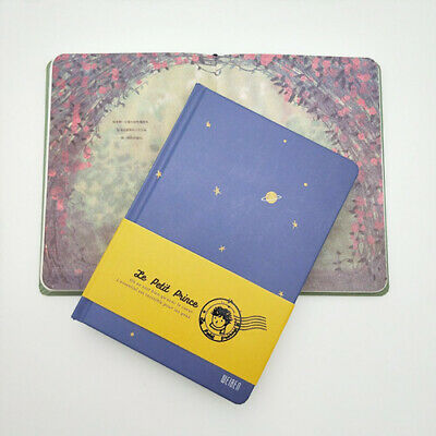 Little Prince Pattern Color Page Hardcover Student Notebook Diary Travel Journal