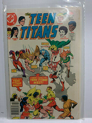 DC Comics Teen Titans #50 Bronze Age Very Good-Near Fine Condition East/West