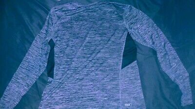 Old Navy Active Dark Gray Long Sleeve Xxl Tall Nwt Anti-odor Go Dry go-fresh
