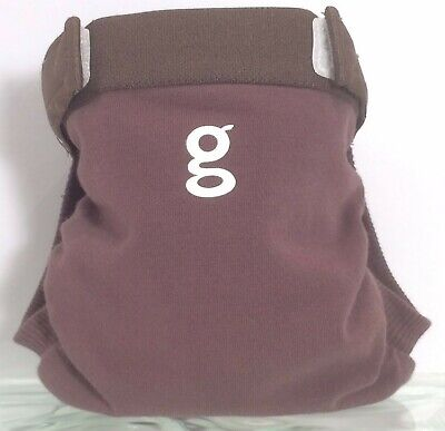 Gdiapers Small Got Chocolate Brown Gpants & Pouch