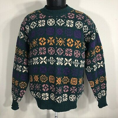 adfd8b5d715 VTG United Colors of Benetton Sweater Crewneck Made Italy Hip Hop 80s 90s