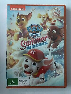 Paw Patrol Summer Rescues (DVD, 2019) (Region 4) Brand New & Sealed Rated G