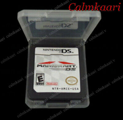 New Mario Kart DS Nintendo Game Card Version Only For DS / DSi / 3DS XL / 2DS US