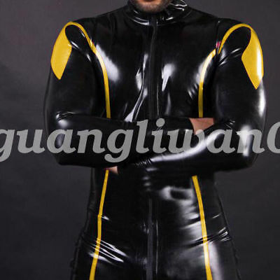 Latexanzu Gummi Latex Rubber Suits Bodysuit Tights Catsuit Ganzanzug Anzug