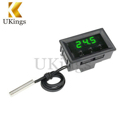 -50~110°C W1209 Temperature Controller 12V Digital Thermostat Switch Sensor+Case