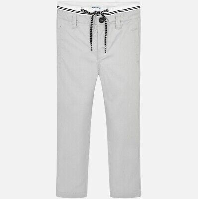 New Boys Mayoral Chino Trousers With Drawstring , Age 2 Years , (3513)
