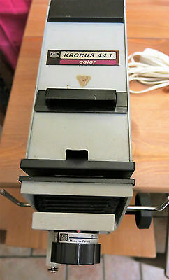 Krokus 44L Color Enlarger Head with 35mm negative carrier + Emitar/s 80mm /4.5