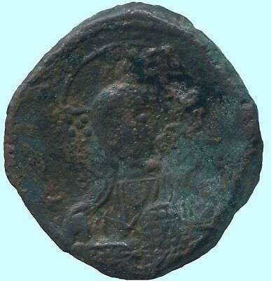 Basil II and Constantine VIII Æ Class A2 Anonymous Follis 976-1025 ANC13632.16