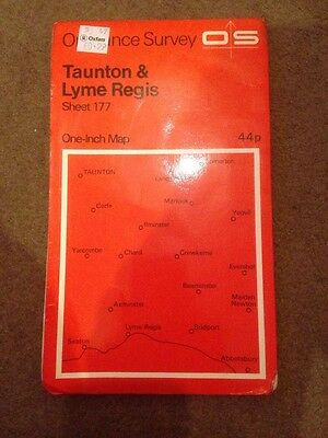 Old Ordnance Survey One-Inch Map Sheet 177