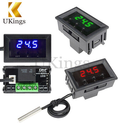 -50~110°C 12V W1209 Thermostat Digital Temperature Controller Switch Sensor+Case
