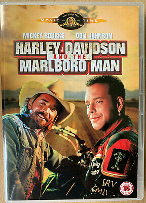 Harley Davidson and the Marlboro Man DVD 1991 Cult Action Buddy Comedy
