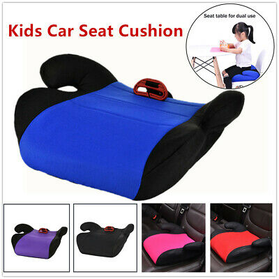 1pc Portable Kids Safety Car Seat Thicken Chair Cushion Heighten Pad Wide Cotton