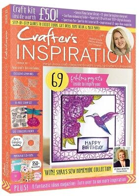 Crafters Companion CRAFTERS INSPIRATION Issue 22 Magazine + £50 FREE Craft Kit